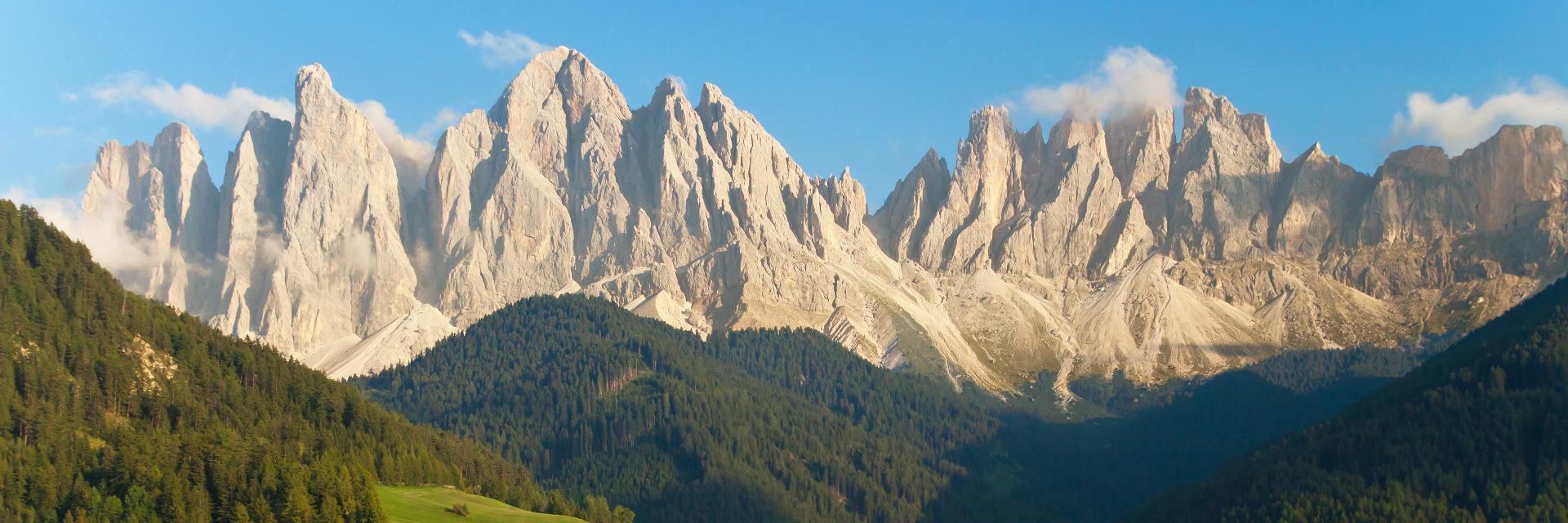 الجبال والطبيعة