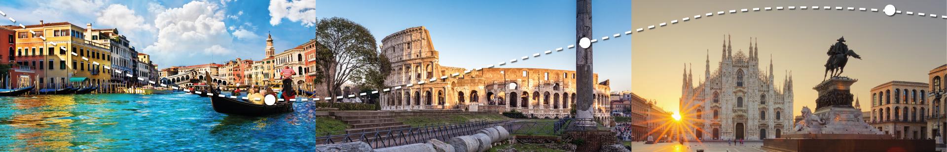 جولات في إيطاليا