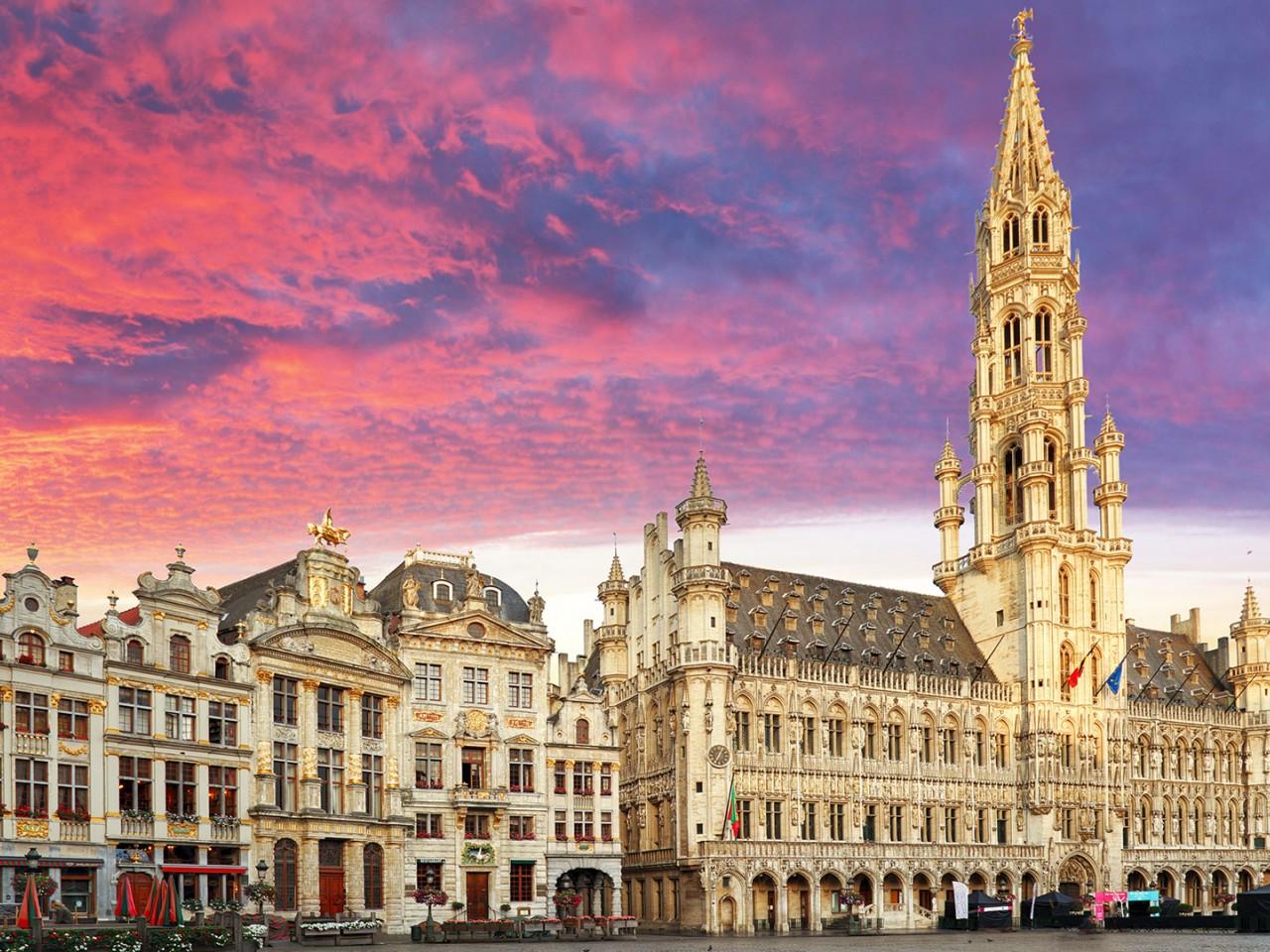 Primo maggio a Bruxelles