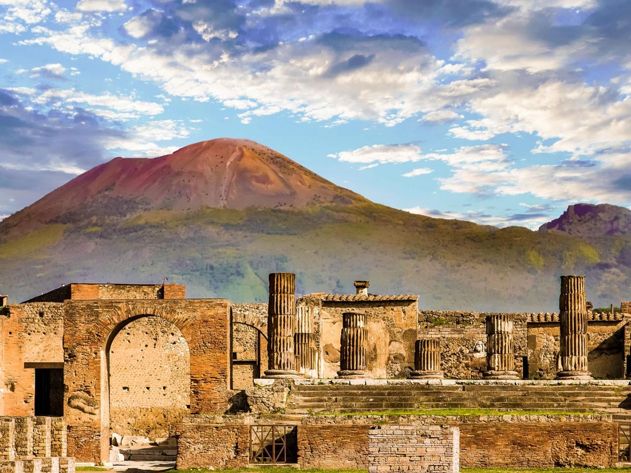 25 aprile a Pompei