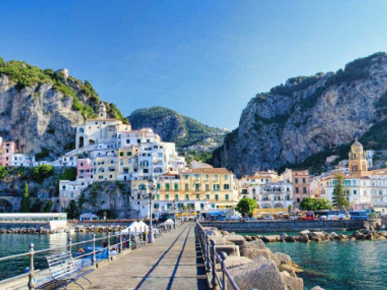 GROUPS: Pearls of the Mediterranean: Paestum, Amalfi and..