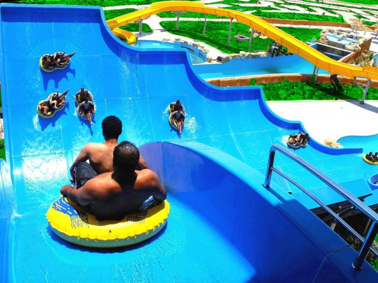 JUNGLE AQUA PARK, Hurghada, Egypt