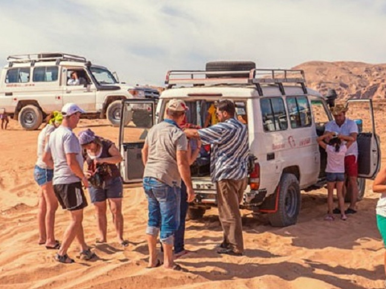 Jeep Safari, Camel Rides, and Bedouin Village BBQ