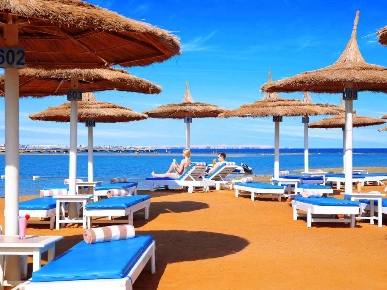 DANA BEACH RESORT, Hurghada, Egypt