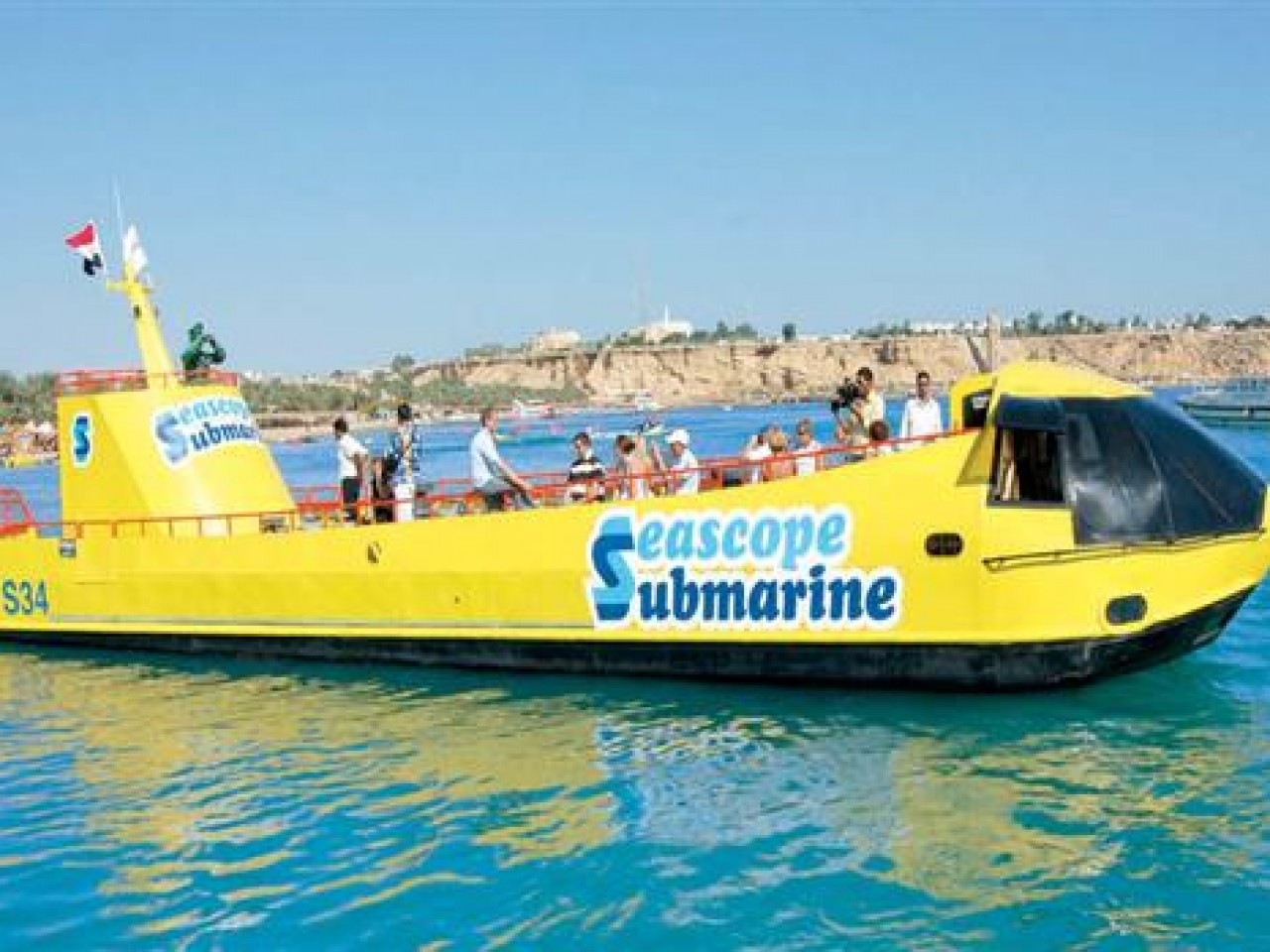 Sharm: Semi-submarine Trip (2 hrs)