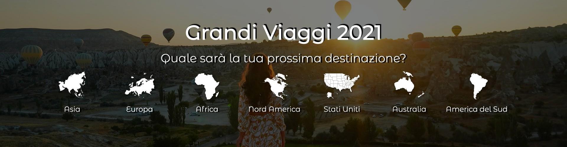 Grandi Viaggi 2021